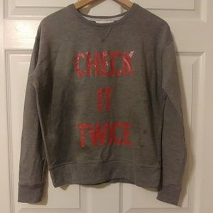 VS Grey Sweater